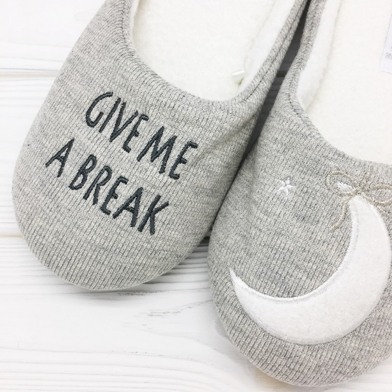 Тапочки Halluci «Give Me A Break» мягкие