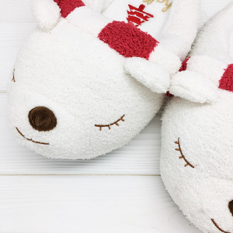 Тапочки Halluci «Мишки в шарфике»