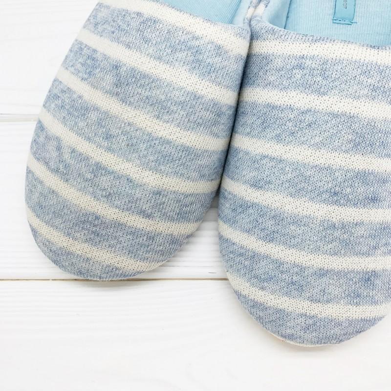 Тапочки Halluci «Конфетки» голубые