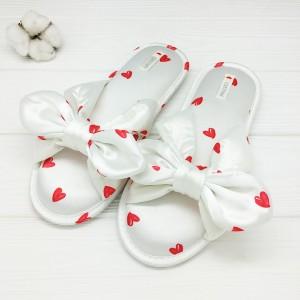 Тапочки «Шёлковые сердечки»