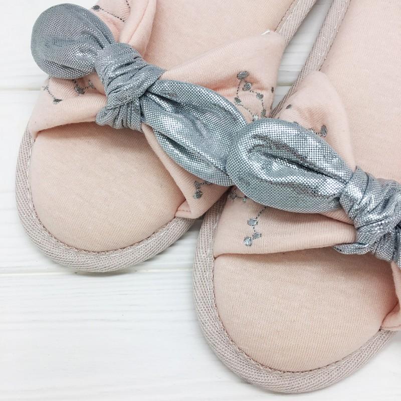 Тапочки Halluci «Созвездие» розовые