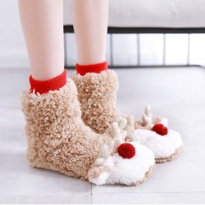 Сапожки-носочки Halluci «Олени»