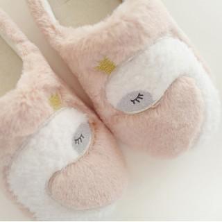 Тапочки Halluci «Лебеди» розовые