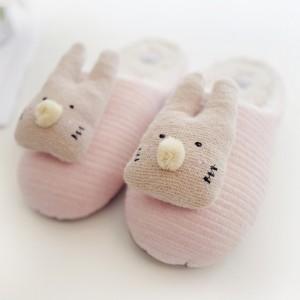 Тапочки «Объёмные кролики»