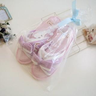 Тапочки Halluci «Безе» бело-розовые