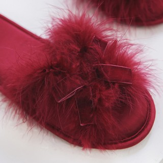 Тапочки «Шарм» бордовые