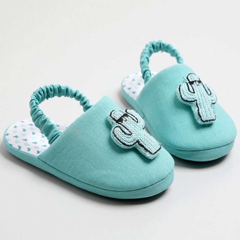 Тапочки детские «Кактусы»