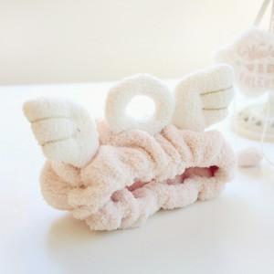 Повязка на голову «Нимб» розовая