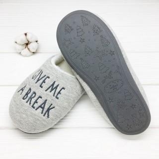 Тапочки Halluci «Give Me A Break»