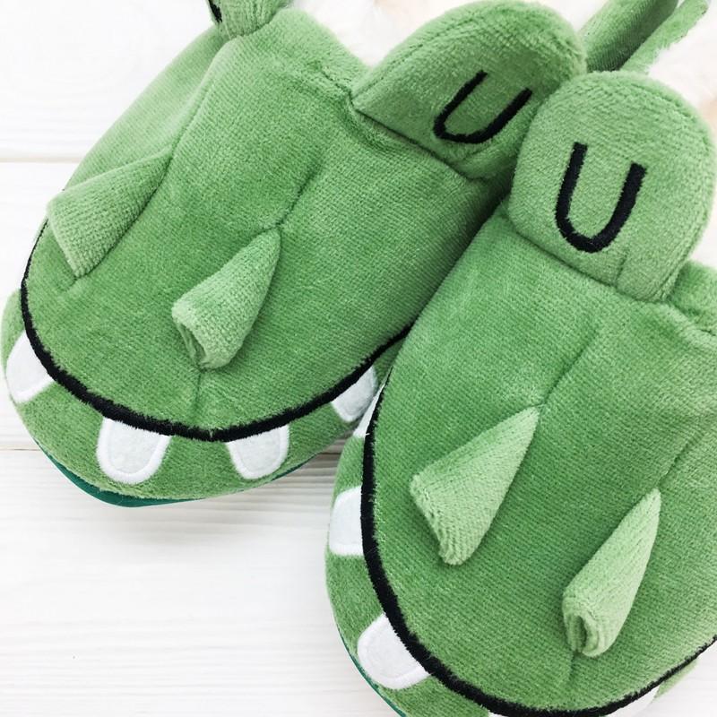 Тапочки Halluci «Крокодилы» с задником