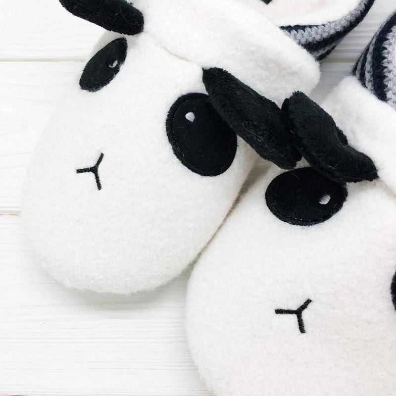Тапочки Halluci «Панды» с задником