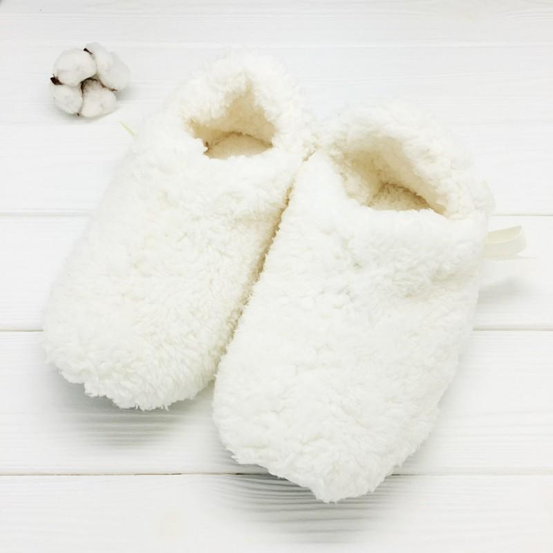 Тапочки «Снег» с задником