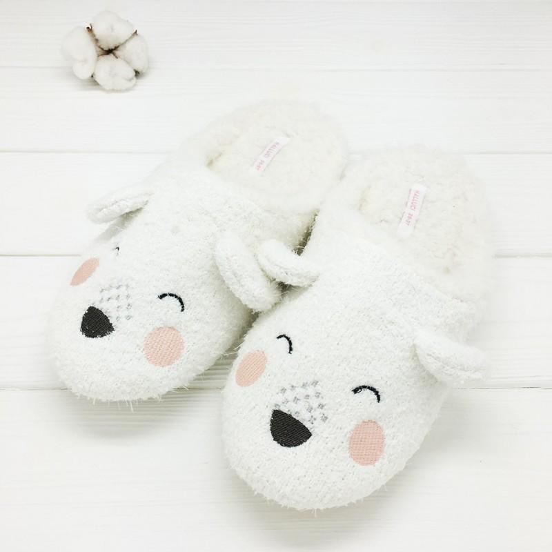 Тапочки Halluci «Спящие мишки»
