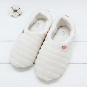 Тапочки «Зефирки белые» с задником