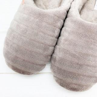 Тапочки «Зефирки лавандовые» с задником