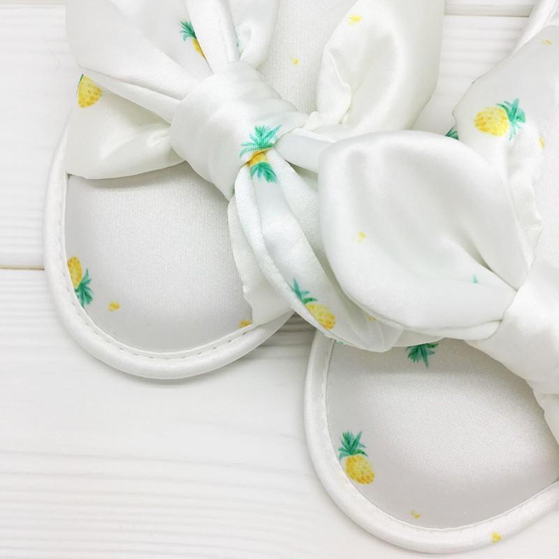 Тапочки «Шёлковые ананасы»