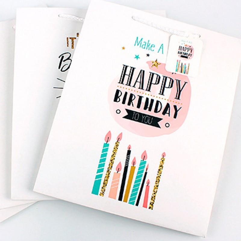 Подарочный пакет Halluci «Make a wish» L
