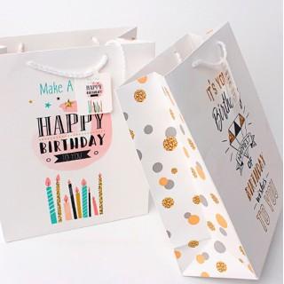 Подарочный пакет Halluci «Make a wish» M