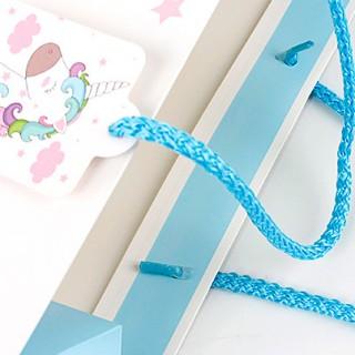 Подарочный пакет Halluci «Кудрявый Единорог» S