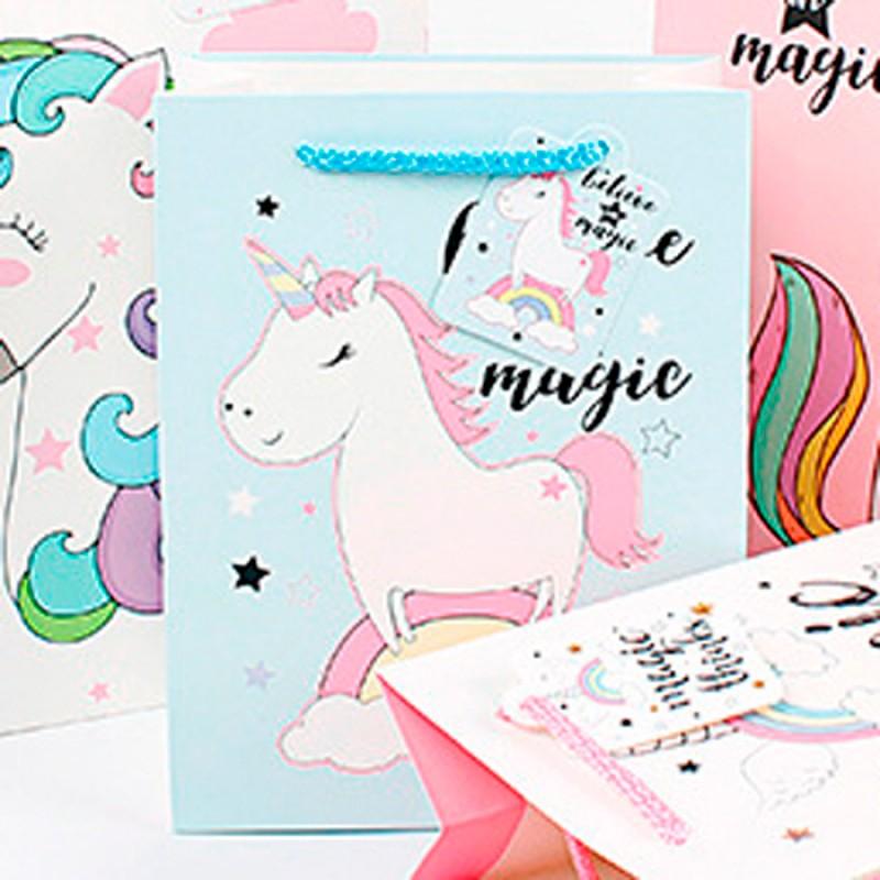 Подарочный пакет Halluci «Believe in magic» M