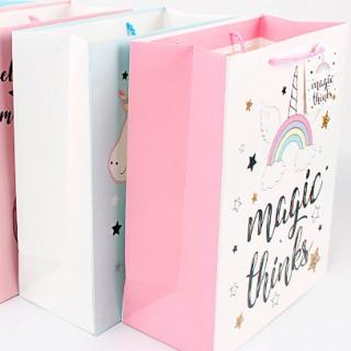 Подарочный пакет Halluci «Magic thinks» M