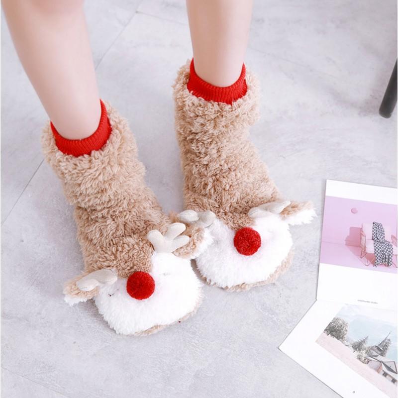 Сапожки-носочки «Олени»