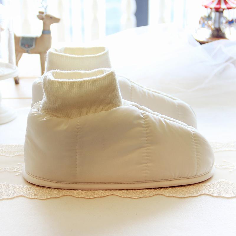 Дутики домашние Halluci «Белые»