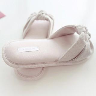 Тапочки «Двойные узелки» розовые