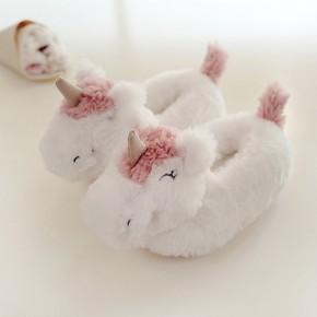 Тапочки детские «Единороги» с задником
