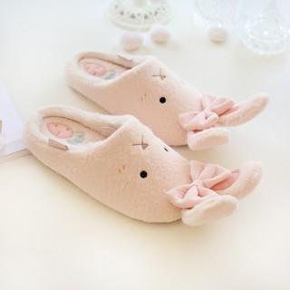 Тапочки «Кролики» розовые
