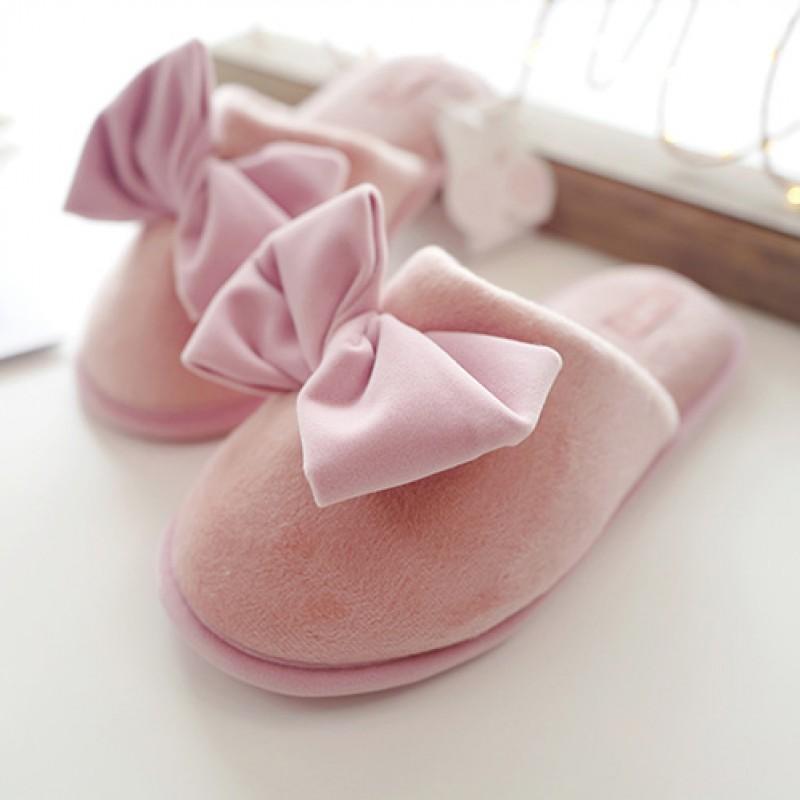Тапочки Halluci «Бабочки» розовые