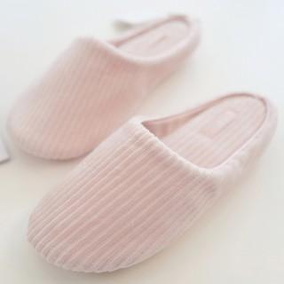 Тапочки Halluci «Рубчик» розовые