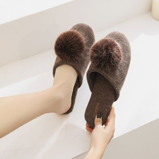 Тапочки «Фантазия» коричневые
