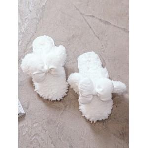 Тапочки «Микки Маус» белые