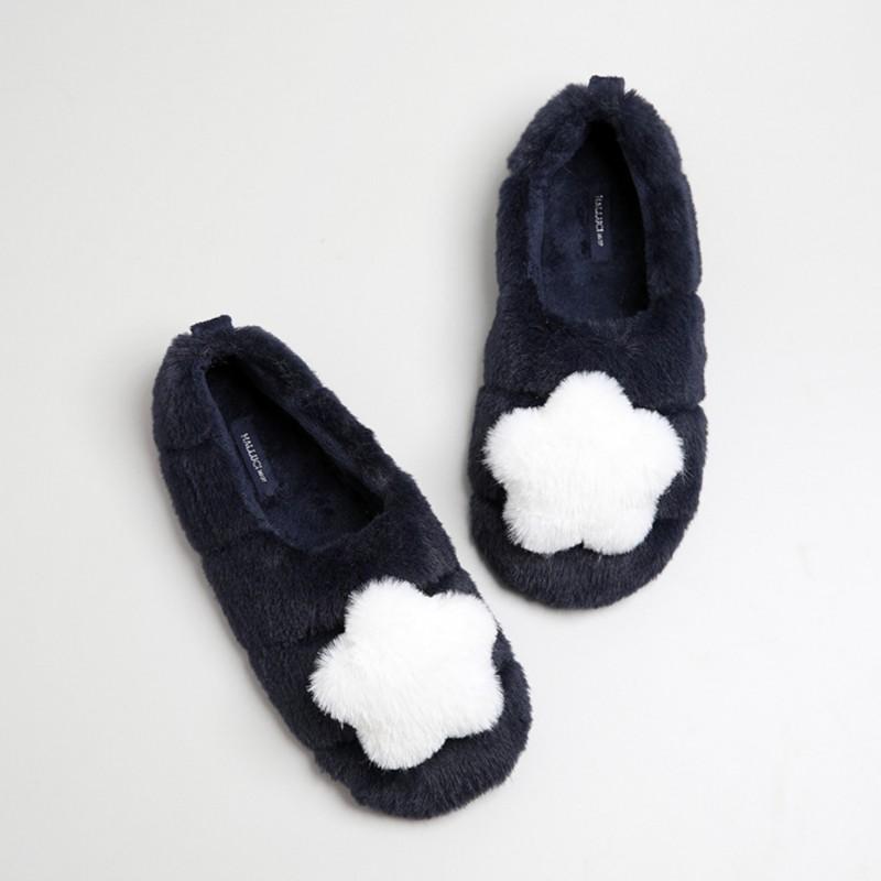 Тапочки «Махровые звёздочки» с задником