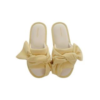 Тапочки «Велюр» желтые
