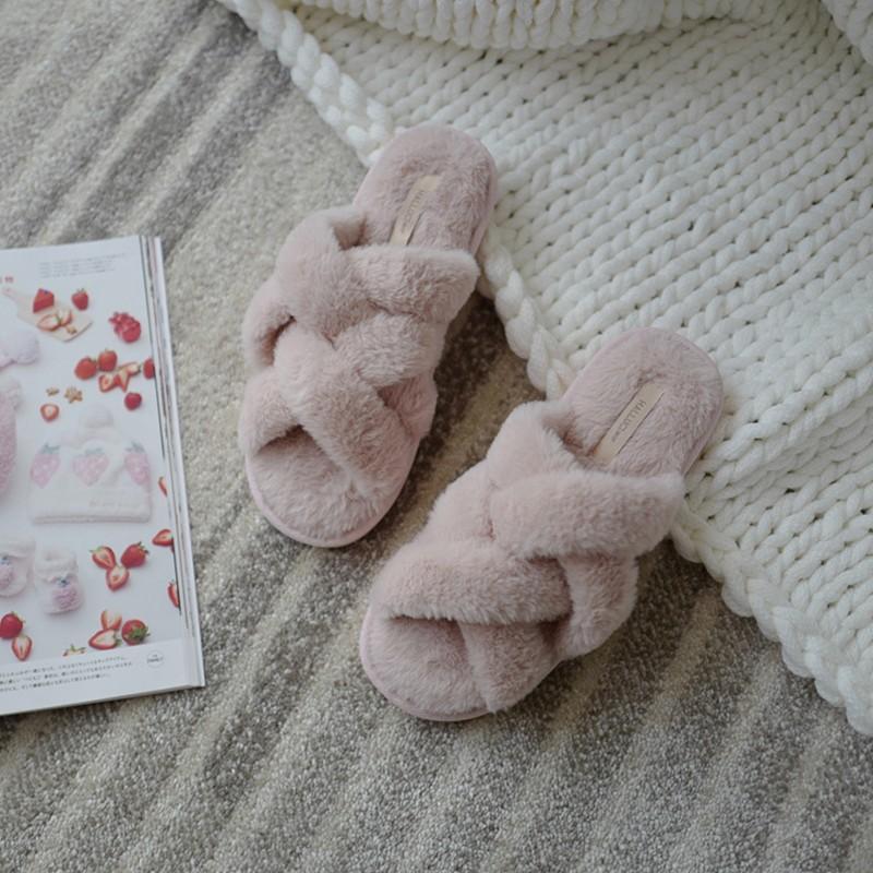 Тапочки «Плетёнки» розовые