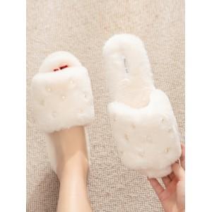 Тапочки «Жемчуг» белые