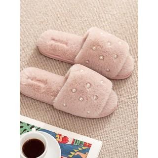 Тапочки «Жемчуг» розовые