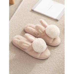 Тапочки «Ушастые помпоны»