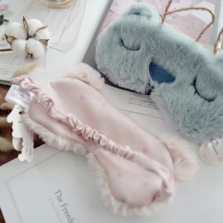 Маска для сна «Медвежонок» розовая