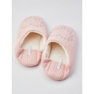 Тапочки «Сердечки» розовые