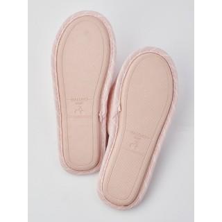 Тапочки «Бантики» розовые