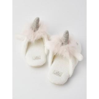Тапочки «Единороги» розовые