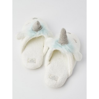 Тапочки «Единороги» голубые