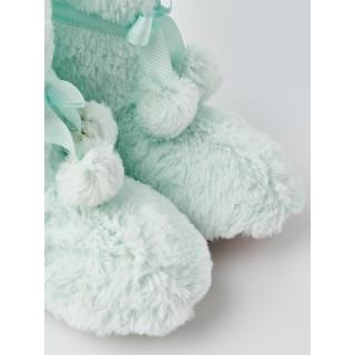 Сапожки домашние «Froggy» мятные