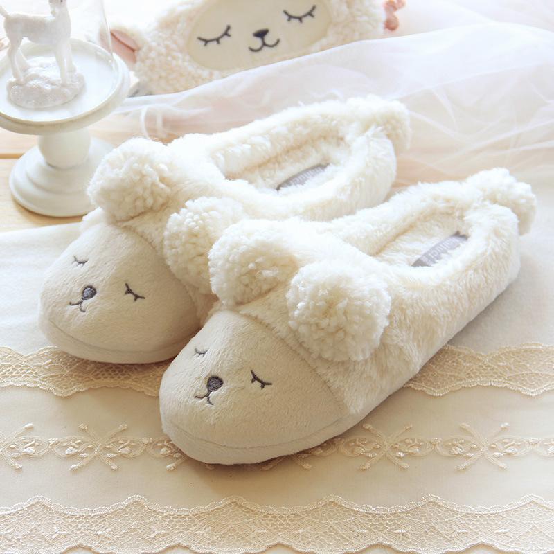 Тапочки Halluci Bears White