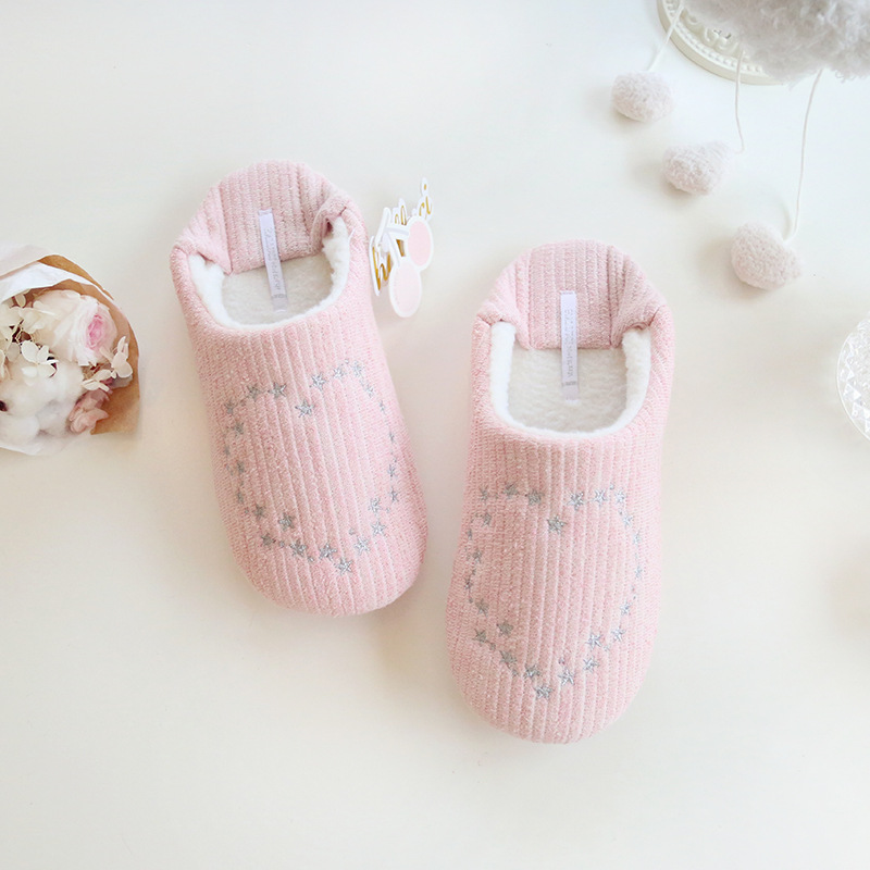 Тапочки Halluci Hearts Pink