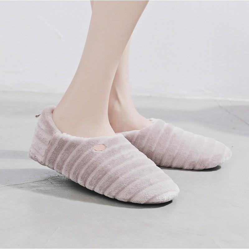 Тапочки Halluci «Зефирки лавандовые» с задником