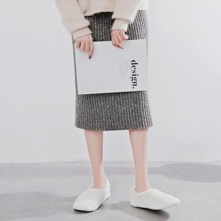 Тапочки Halluci «Зефирки белые» с задником